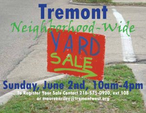 Tremont Neighborhood-Wide Yard Sale @ Cleveland | Ohio | United States