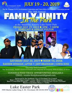 14th Annual Family Unity in the Park @ Luke Easter Park | Cleveland | Ohio | United States