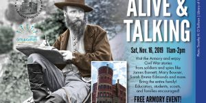 Alive & Talking at the Armory - Free Living History Event @ Cleveland Grays Armory Museum | Cleveland | Ohio | United States