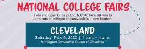 Cleveland National College Fair @ Huntington Convention Center of Cleveland | Cleveland | Ohio | United States