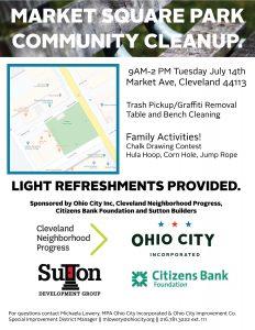Market Square Park Community CleanUp @ Market Square Park Community Cleanup