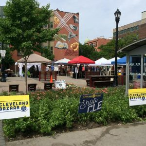 Cleveland Bazaar @ Market Square Park (across from West Side Market) in Ohio City